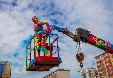 В Норильске стартовал фестиваль паблик-арта «Город бесконечного вдохновения»