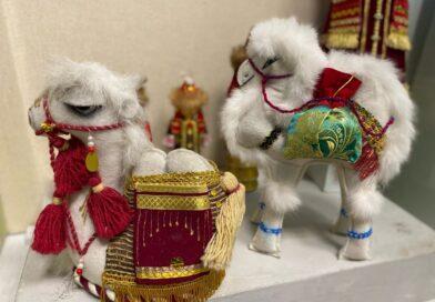 Выставка «Пёстрая мозаика» в Петербургском музее кукол