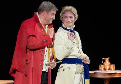 Сходили на премьеру спектакля «Король vs Король» в театре «Буфф»
